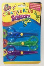 Forbici per Sicurezza Bambini Divertente Creativo assortiti a forma di tagli Arts Crafts School