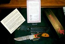 Winchester 670 Knife & Sheath 1990 N.A.H.C. Hunting Heritage Collection Rare Set