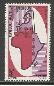 Cameroun #420 (A66) VF MINT LH - 1965 5fr Symbolic Map of Europe and Africa