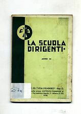 LA SCUOLA DIRIGENTI DELLA GIOVENTÙ FEMMINILE DI A.C. - TESTO PER LE ALUNNE# 1937