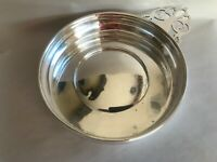 ANTIQUE WEBSTER STERLING SILVER LARGE PORRINGER BOWL 7.75""