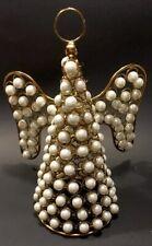 Gold Pearl Tree Toper/Christmas Decor Angel