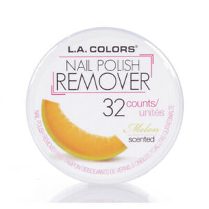 LA Colors Nagellack Entferner Bremsbeläge melon Duft 32 Zählt