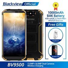 Blackview BV9500 4+64GB Téléphone Smartphone IP68 Waterproof NFC Mobile 10000mAh
