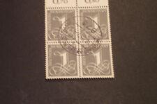 BRD 33 Briefmarken Zieffern 1955 MN 226 Rundstempel