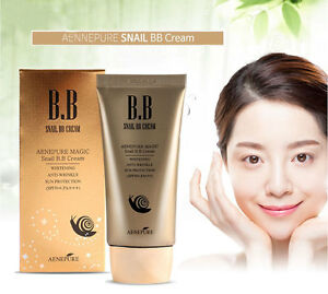 Aenepure/Snail BB cream SPF50+PA +++/Whitening,Anti-Wrinkle,Sun protection/KOREA