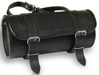 Motorrad Werkzeug Lenker Tasche Rolle Satteltasche Gepäckrolle Leder Toolbag TB2