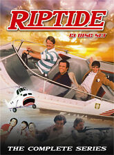 Riptide: Complete Classic 1980s TV Series Perry King Joe Penny Box / DVD Set NEW