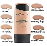 Max Factor Lasting Performance Foundation - CHOOSE YOUR SHADE!