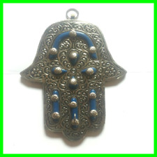 Hamsa Hand Fatima Amulet Evil Eye Protection Good Luck Khmissa Hanging Wall
