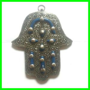Hamsa Hand Fatima Amulet Evil Eye Protection Good Luck Khmissa Hanging Wall