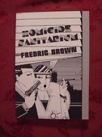 RARE HOMICIDE SANITARIUM by FREDRIC BROWN Detective Pulps Vol 1