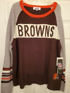 Touch NFL Team Apparel Cleveland Browns Women's Sweater Size (2XL)