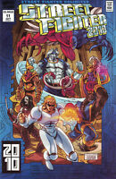 Street Fighter Unlimited #11 Variant RARE X-Men 2099 Homage Near Mint to NM+
