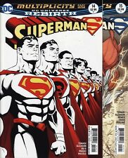 SUPERMAN #14,15,16/ANNUAL 1 DC Comics Rebirth Action Red Super Sons MULTIPLICITY