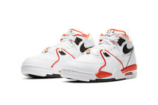 """Nike Air Flight 89 EMB """"Rucker Park"""" White Orange Black CZ6097-100 Men's NEW"""