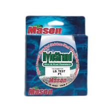 "Mason Bright ""NYLOSTRAND"" Leader Wire Nylon Coated 300 ft Spool 10lb- 210lb Test"