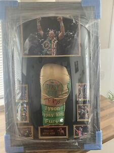 NEW Tyson Fury SIGNED Boxing Glove Autographed DOME Display With COA