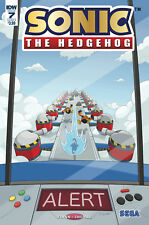 SONIC THE HEDGEHOG #7, FOIL COVER A, New, First print, IDW (2018)