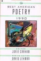 Best American Poetry 1990 by Lehman