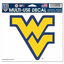 West Virginia Mountaineers 5x6 Ultra Decal Window Laptap Car Truck Multi Use