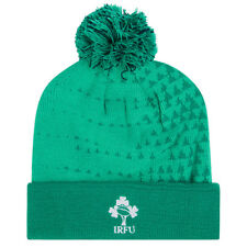 Ireland Rugby Bobble Hat - Bosphorus Green IRFU (2018-2019)
