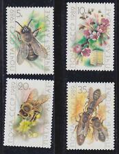 russia 1989 Sc 5771/4 bees,set MNH       r2116