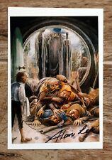 ALAN LEE ### famous Tolkien illustrator hand signed photo