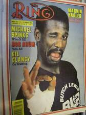 The Ring Boxing Magazine May 1983 Michael Spinks, Marvin Hagler, Arum, Clancy