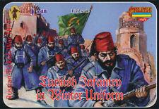 Strelets - Turkish infantry in winter uniform - 1:72