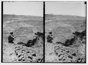 Around the Dead Sea,Camp of Flavius Silva,Middle East,American Colony Phot 2889