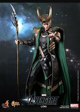 Hot Toys MMS176 The Avengers Loki 1/6 Scale 12 Inch Collectible Figure