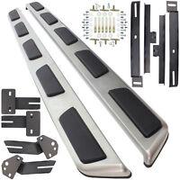 Trittbretter Schweller Aluminium inkl. Anbaumaterial für Audi Q7 4M Bj. 15->>