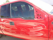 Passenger Front Door & Glass 04 05 06 07 08 Ford F150 FX4 Ex Cab Red Pick Up OEM