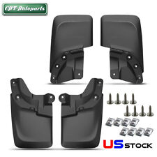 For Toyota Tacoma 2016-2018 w/ Fender Flare Splash Guard Mud Flaps 4x Rear&Front