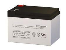 12V 12Ah F2 Terminal National Battery C14A SLA battery by SigmasTek