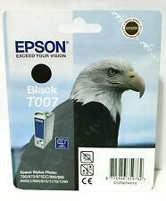 Epson T007 Black Genuine Stylus Photo 790 870 890 895 900 915 1270 Ink Cartridge
