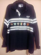 SIX NATIONS RUGBY UNION SHIRT XXXL 3XL COTTON TRADERS EMBROIDERED BADGES VGC