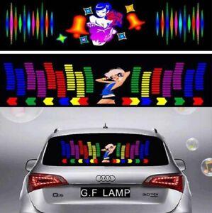 CAR STICKER MUSIC RHYTHM LED FLASH LIGHT LAMP