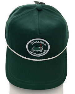 2021 Green Masters golf Rope hat! Hottest Hat at the 2021 Masters