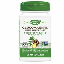 Glucomannan 100 Caps by Nature's Way
