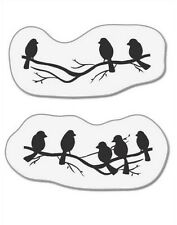 Motivstempel Clear Stamps Stempel von cArtUs Vögel auf Zweig