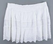 DENIM & SUPPLY by RALPH LAUREN Women's KARLI Mini Skirt, White, size M