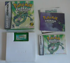 Pokemon Emerald Nintendo Gameboy Advance Game GBA Boxed Complete VGC New Battery