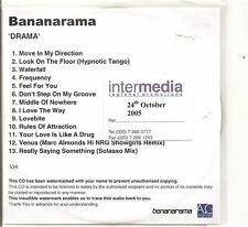 BANANARAMA Drama PROMO ACETATE CD ALBUM