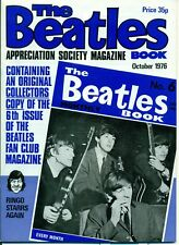 THE BEATLES MAGAZINE MONTHLY BOOK no.6 October 1976