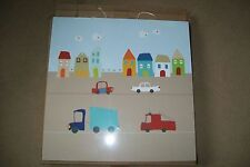 Vertbaudet-light-up canvas.Cars.48x48 cm.New in box.RRP 39£