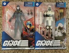 "GI JOE CLASSIFIED STORM SHADOW COBRA COMMANDER 2020 NEW 6"" HASBRO ACTION FIGURES"