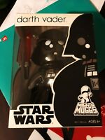 Star Wars Action Figure Darth Vader Masked Mighty Muggs 6 inch Hasbro Disney