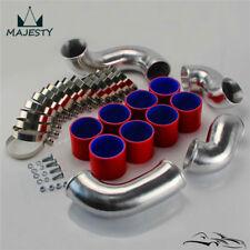 Front Mount Intercooler Pipe Piping Kit For Skyline R33 R34 GTR RB26DETT Red